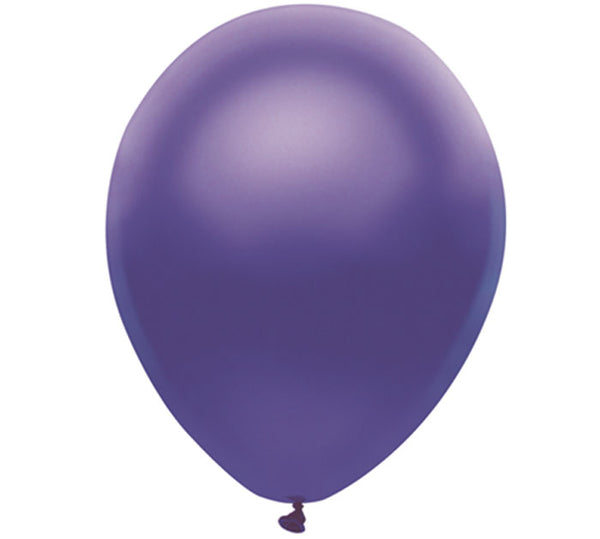 "9"" Purple Balloon"