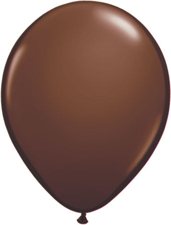 "11"" Chocolate Brown Balloon"