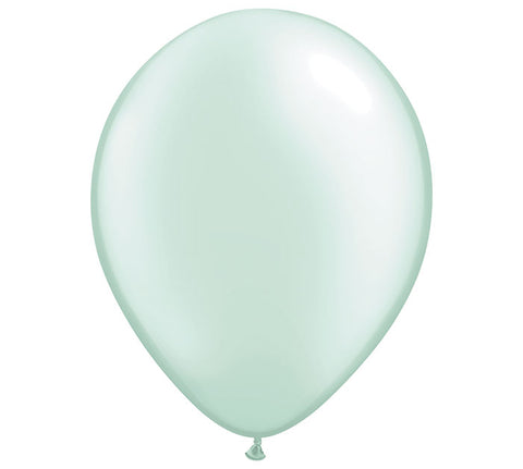 "11"" Pearl Mint Green Balloon"