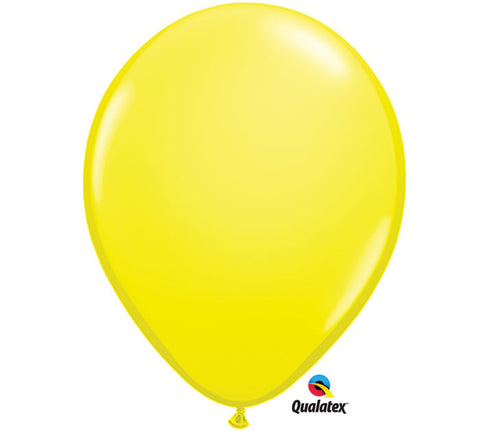 "11"" Yellow Balloon"