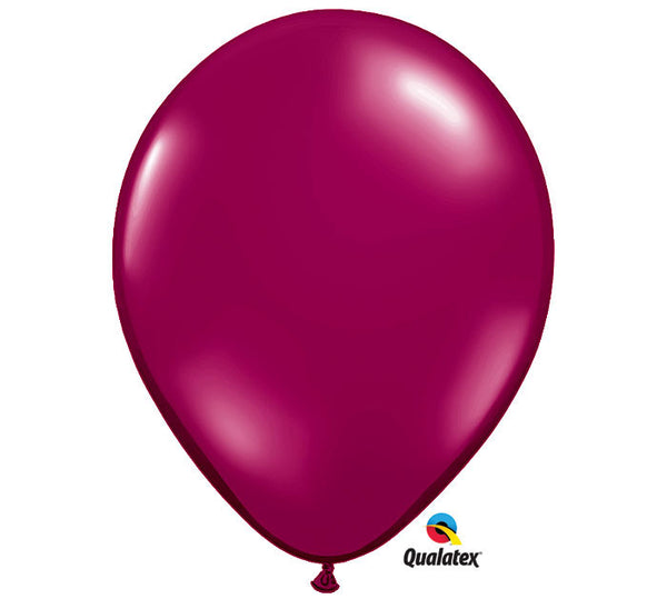 "16"" Sparkling Burgundy  Balloon"