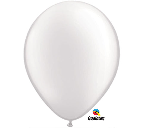 "16"" Pearl White Balloon"