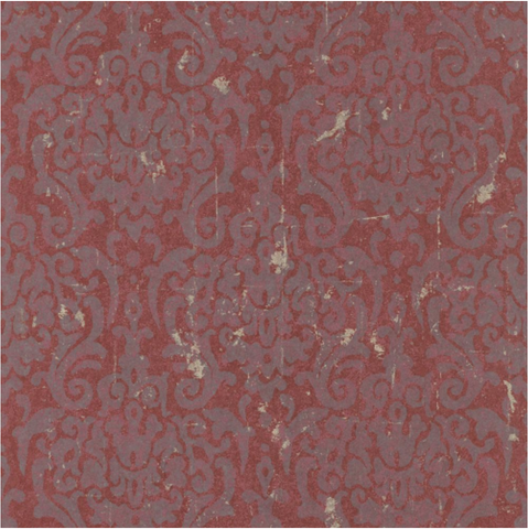 Damask Grunge Wallpaper