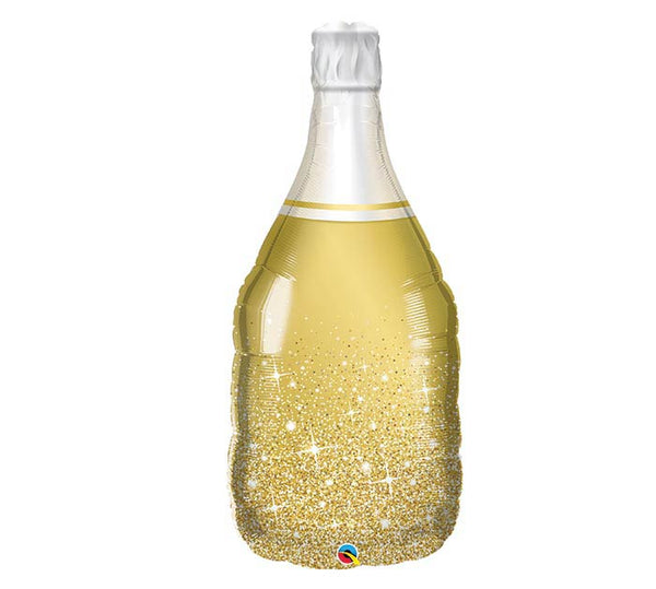 "39"" Gold n' Bubbly Champagne Bottle"