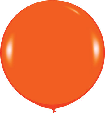 "24"" Fashion Orange Balloon"