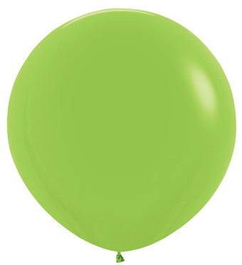"24"" Key Lime Balloon"