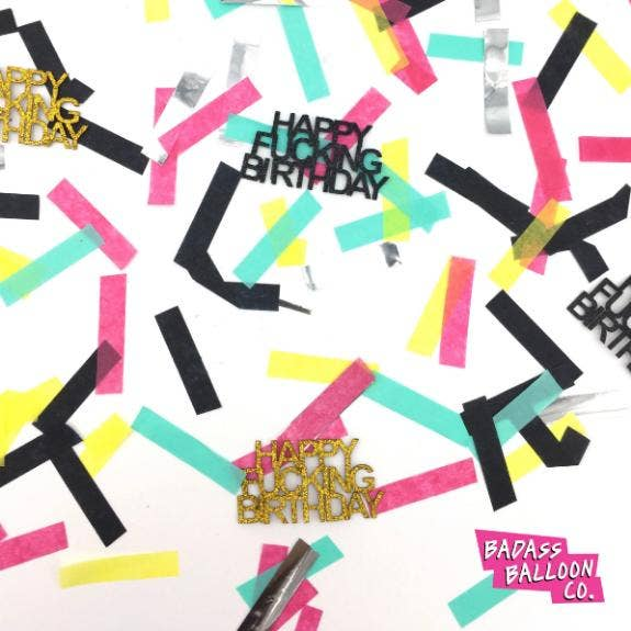 Badass Balloon Co. Party Confetti
