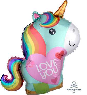 "21"" I Love You Unicorn"