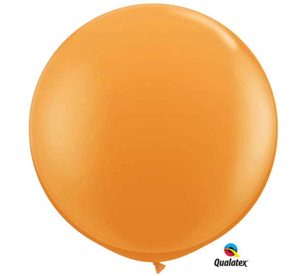 3' Orange Balloon