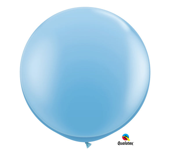 3' Pale Blue Balloon