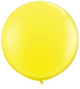 3' Yellow Balloon