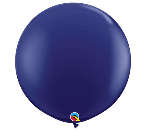 3' Navy Balloon