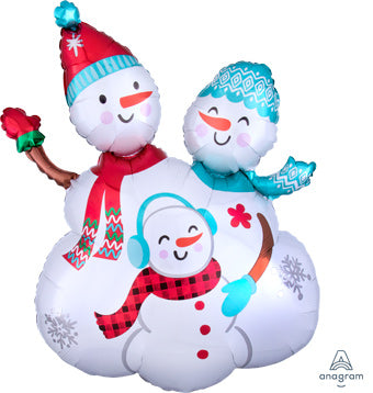 "26"" Snowman Family Balloon"
