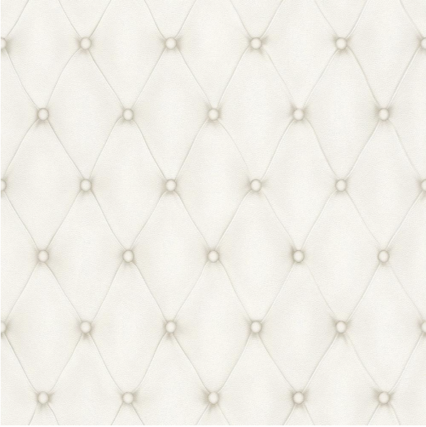 Tufted Leather Wallpaper