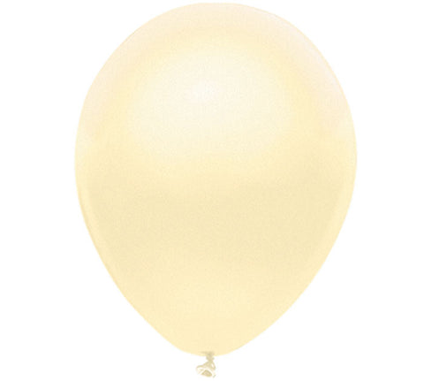 "11"" Pearl Ivory Balloon"