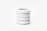 Matte White Planter Stacking