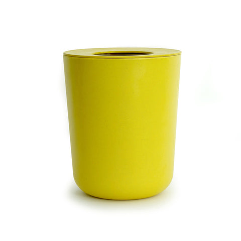 Bamboo Bano Bathroom Bin in Lemon
