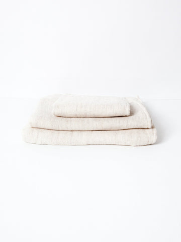Claire Kontex Japanese Towels - Almond Powder