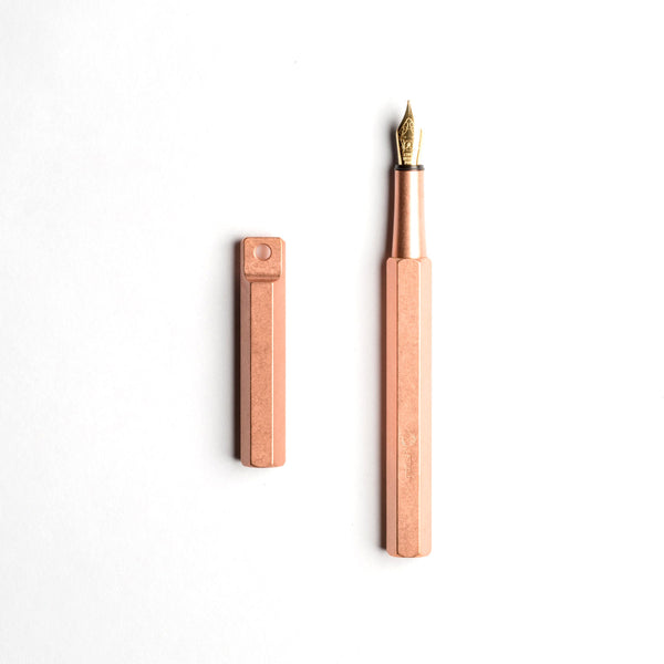 Ystudio Portable Fountain Pen- Copper