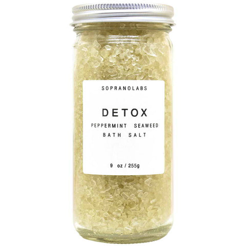 Soprano Labs Peppermint Detox Bath Salts
