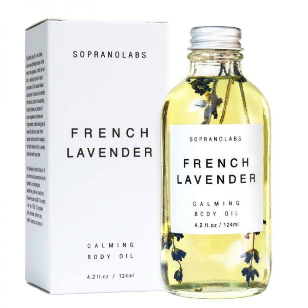 Soprano Labs Lavender Calming Body Oil