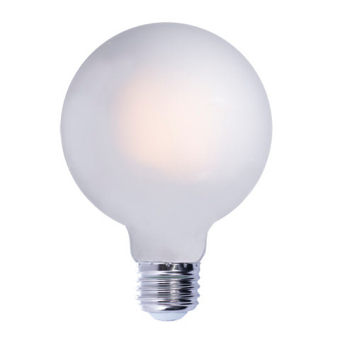 "5"" Frosted LED Globe Bulb"