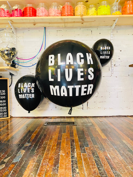 "Black Lives Matter 36"" BIG-ASS Latex Balloon"