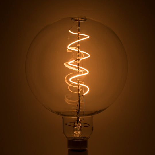 4W LED Globe Shaped Grand 2200K Filament Lightbulb