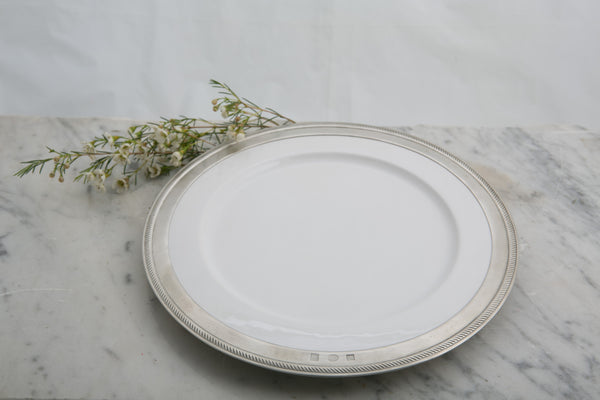 Match Pewter Luisa Dinner Plate