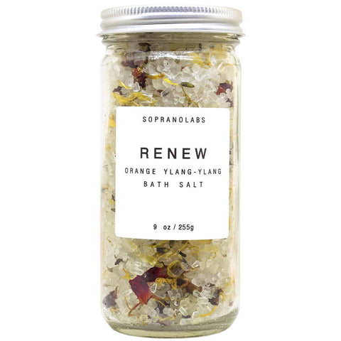 Soprano Labs Renew Bath Salt