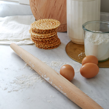 Sir|Madam French Beechwood Rolling Pin
