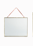 Kiko Brass & Glass Hanging Picture Frame (More Options)