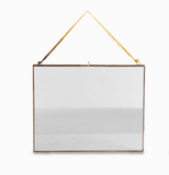 Kiko Copper & Glass Hanging Frame (more options)