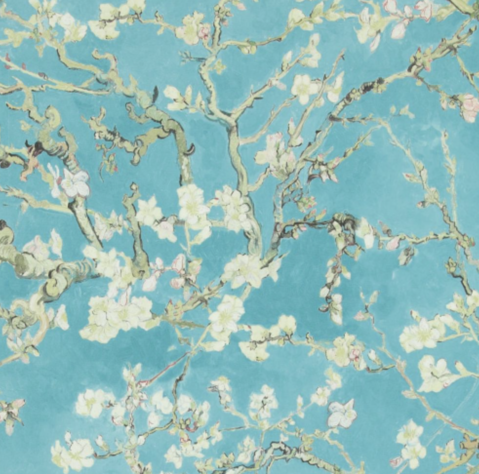The Vincent Van Gogh Wallpaper Collection Almond Blossoms