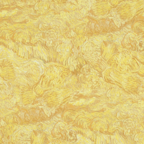 The Vincent Van Gogh Wallpaper Collection; Wheatfield with a Reaper
