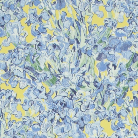 The Vincent Van Gogh Wallpaper Collection; Irises
