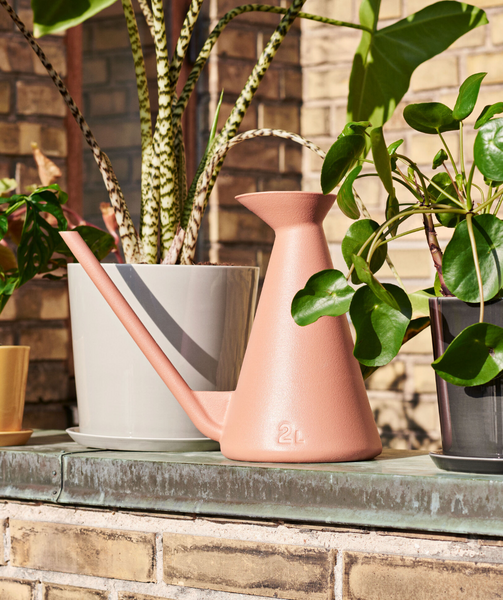 Plastic Watering Can - Terracotta