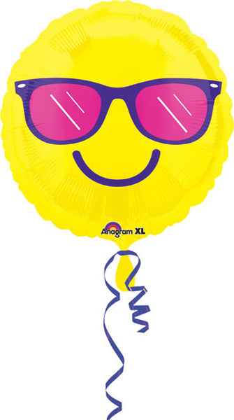 Sunglasses Smiley Balloon