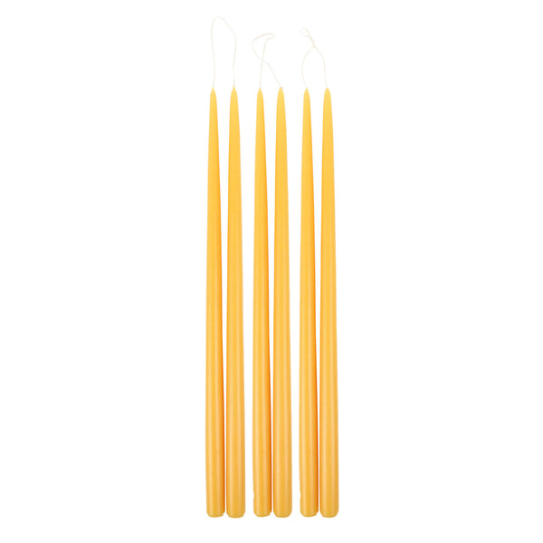 18 in Taper Candles in Safron