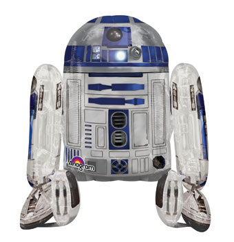 Mylar Air Walker R2D2 Balloon