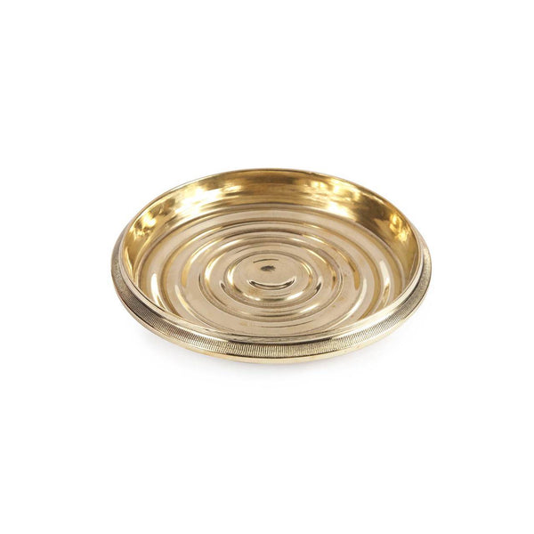 Brass Coin-Edged Bottle Coaster