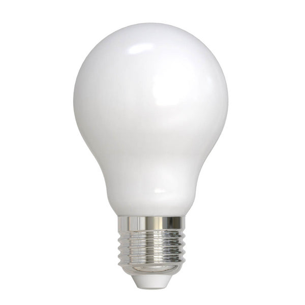 "3"" Milk Glass LED Globe Light Bulb"