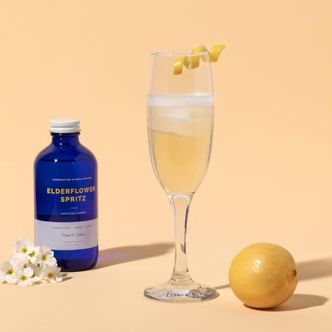 Elderflower Spritz Cocktail Syrup