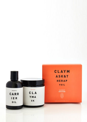 Exfoliating Clay Mask Set