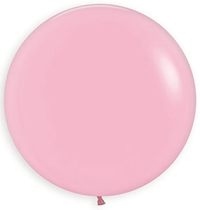 "24"" Fashion Bubble Gum Pink Balloon"