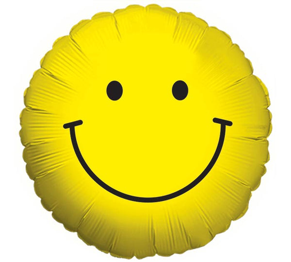 JUMBO 3' Mylar Smiley Face Balloon