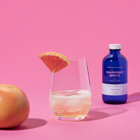 Grapefruit Spritz Cocktail Syrup