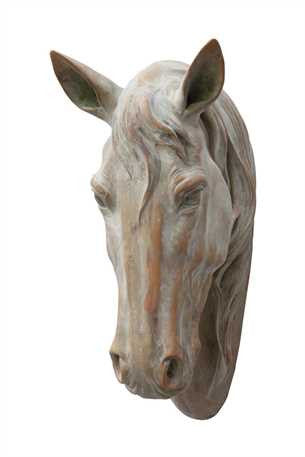 Wall-Mount Resin Horse Head