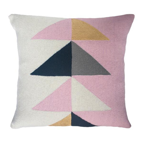 Leah Singh Madison Triangle Pillow