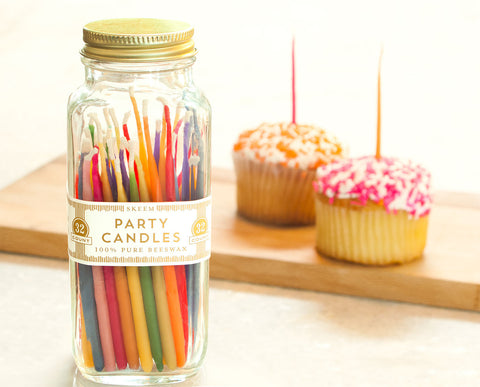 Skeem Rainbow Party Candles